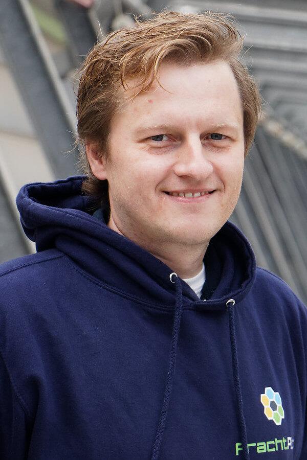 FrachtPilot Gründer CEO Founder Dr. Sebstian Terlunen Geschäftsführer Geschäftsführung Chief Executive Officer