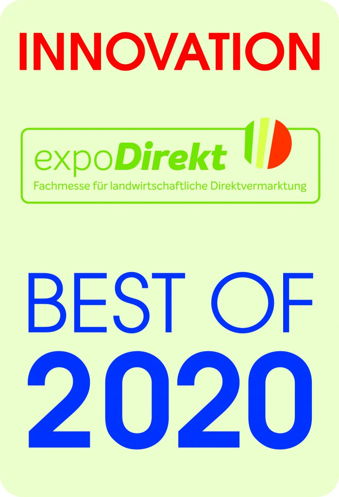 FrachtPilot expoDirekt expoSe Fachmesse Innovation Innovationspreis Preis Platz 1 erster Platz Landwirtschaft Direktvermarktung