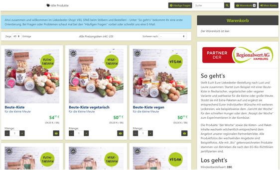 FrachtPilot Software Direktvermarktung Fleisch Landwirtschaft Lieferservice Lebensmittel Metzgerei Rind Schwein Geflügel Wild Wildbrett Onlineshop Webshop online Vermarktung