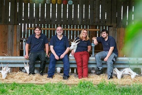 FrachtPilot Kunde Biohof StÄhr Direktvermarktung Milch Ziegenmilch Lieferservice Portrait