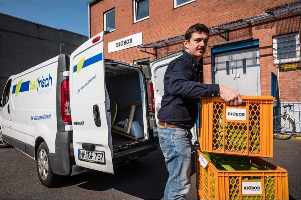 FrachtPilot Kunde Liekedeeler Biokiste Obstkiste Gemüsekiste Lieferservice