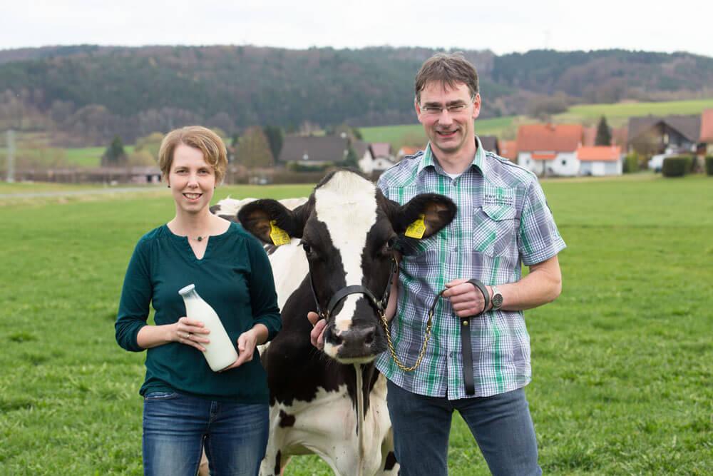 FrachtPilot Kunde Direktvermarktung Milch Lotta Landmilch aus Schemmern Nina Rautenkranz Portrait