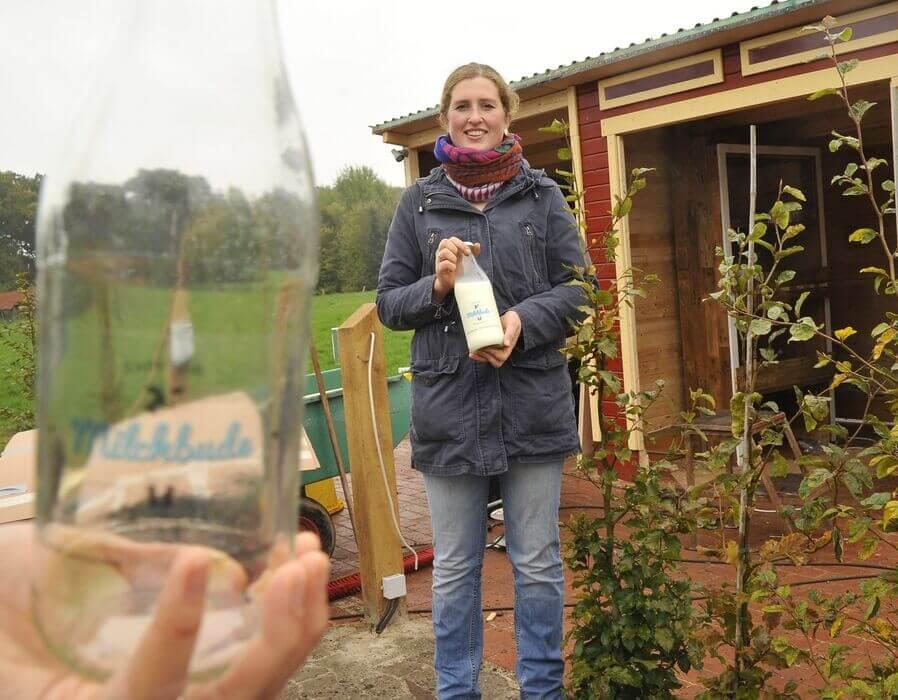 FrachtPilot Kunde Direktvermarktung Milchbude Molkerei Friederike Kastens