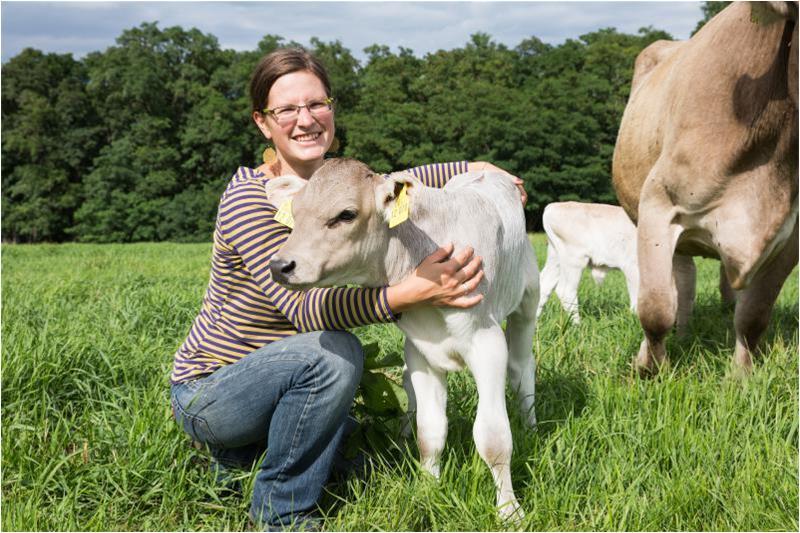 FrachtPilot Kunde Direktvermarktung Milch Fleisch Demeter Hradetzky Anja Stolze Kuh