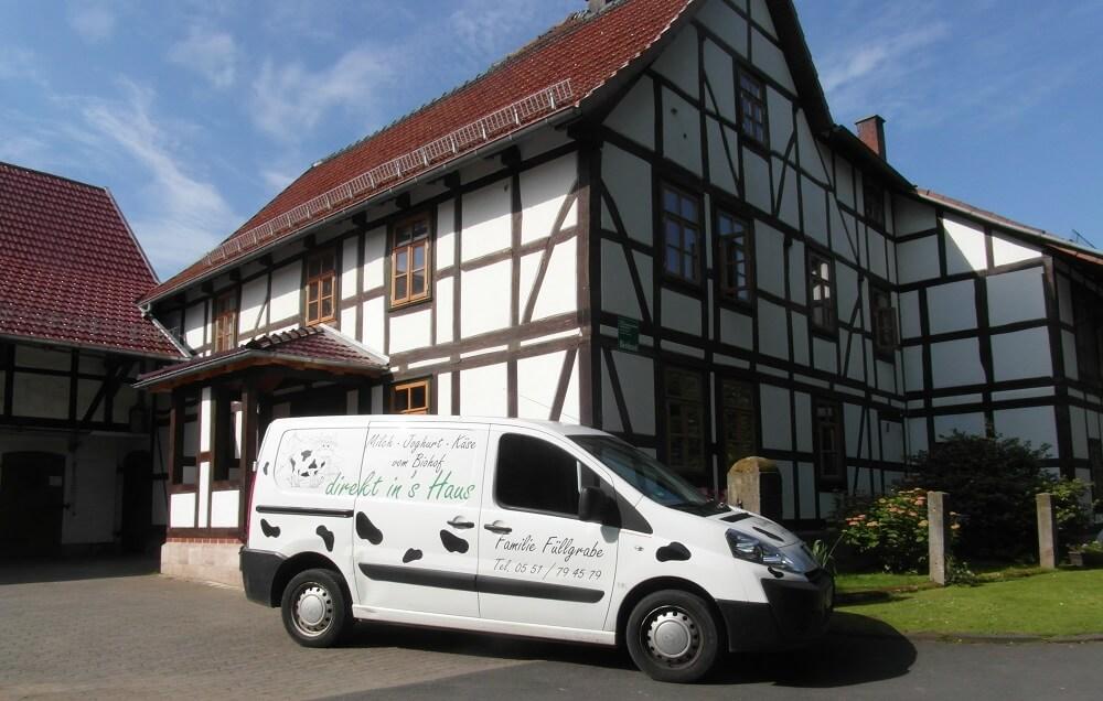 FrachtPilot Kunde Naturmilchhof Gartetal Milchhof Direktvermarktung Milch Käse Joghurt Lieferservice Molkerei Füllgrabe Portrait